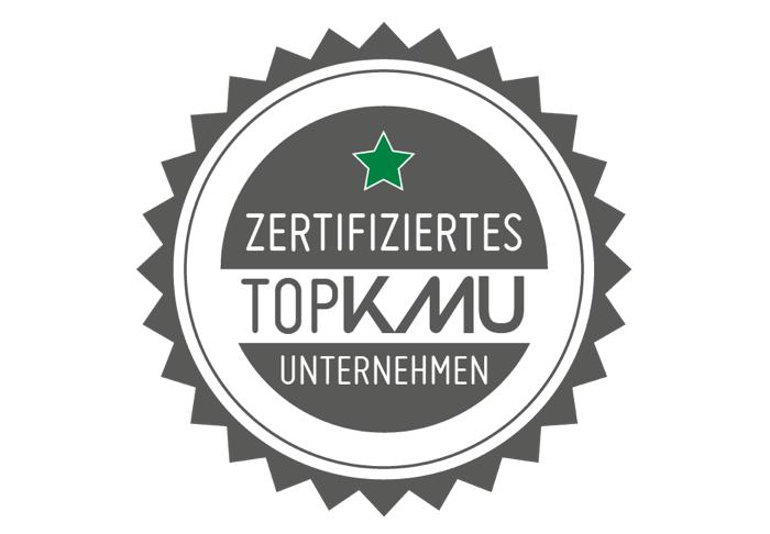 Zertifizierung durch TopKMU